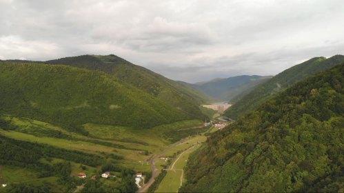 Filmare aeriana Gura Raului Sibiu