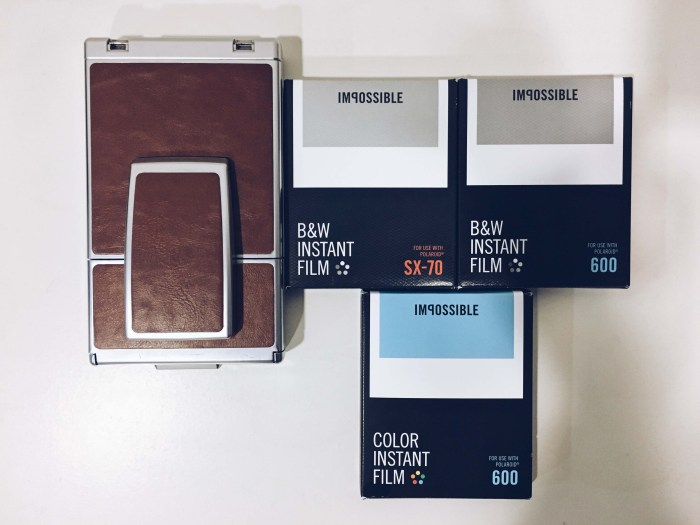 Impossible project SX70