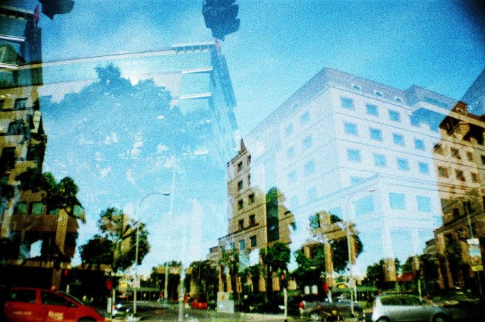 Lomography double exposures
