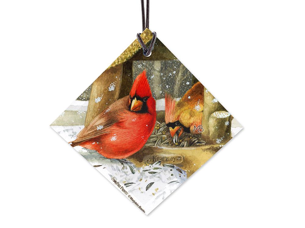 Marjolein Bastin Winter Cardinals StarFire Prints