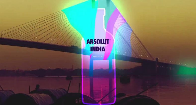 Absolut India Journey by Supari Studios