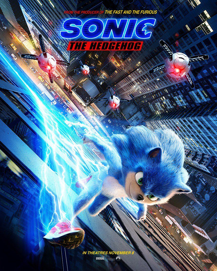 SONIC THE HEDGEHOG: Go Fast With The Official Trailer!