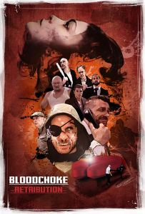 BLOOD CHOKE REDEMPTION poster