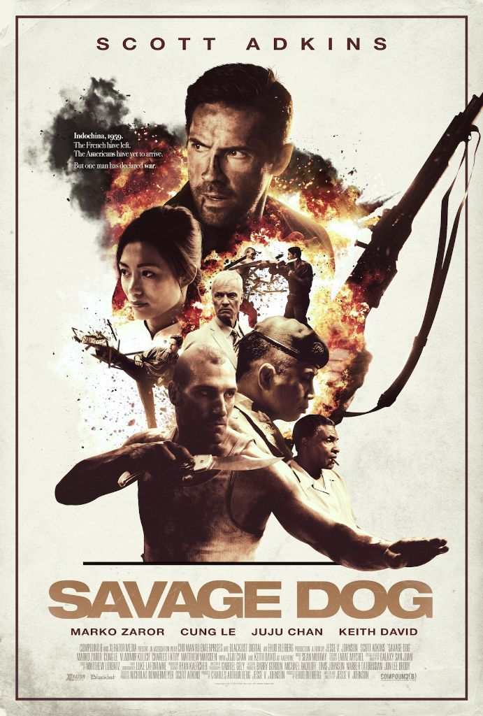 Savage Dog - US Poster
