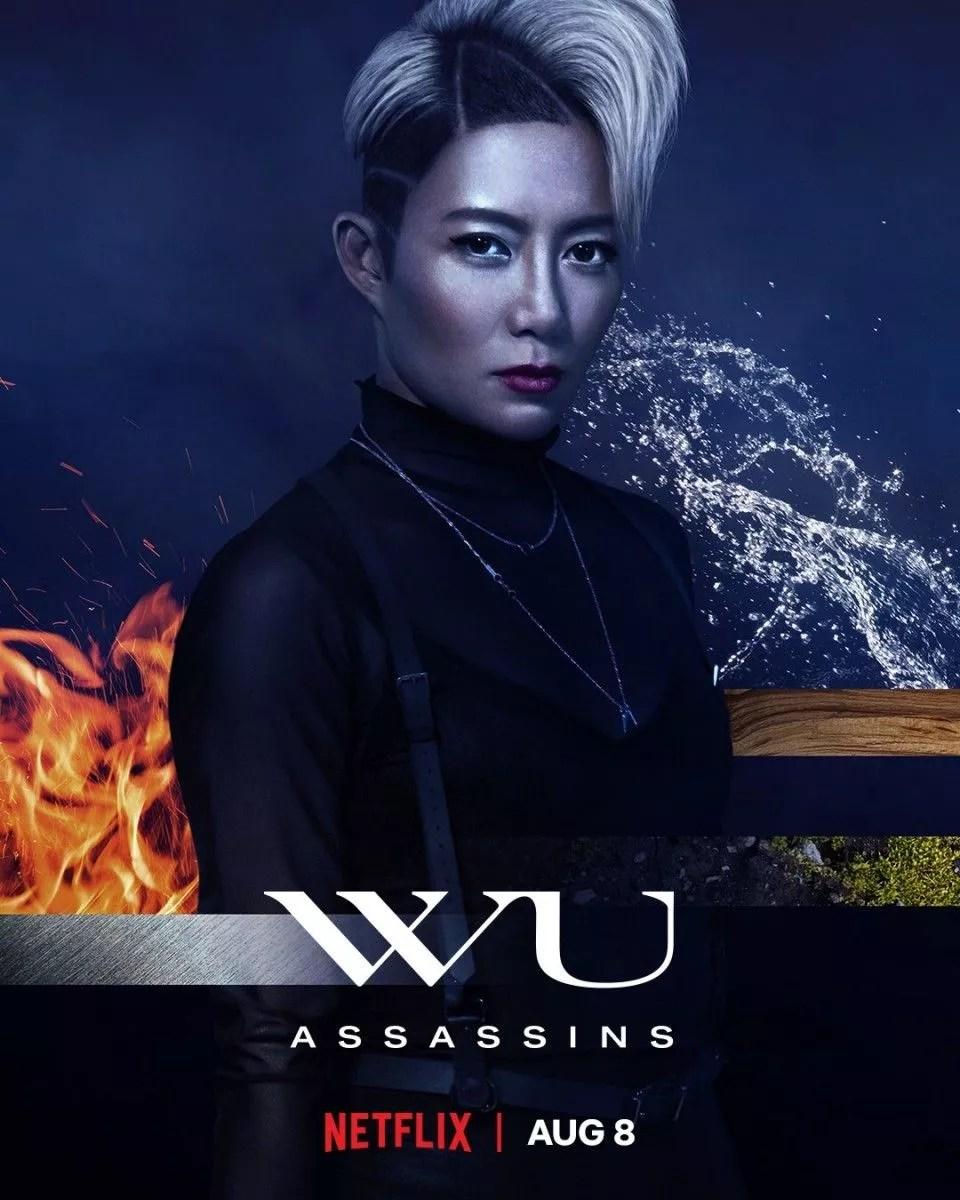 JuJu Chan as Zan in WU ASSASSINS (2019)