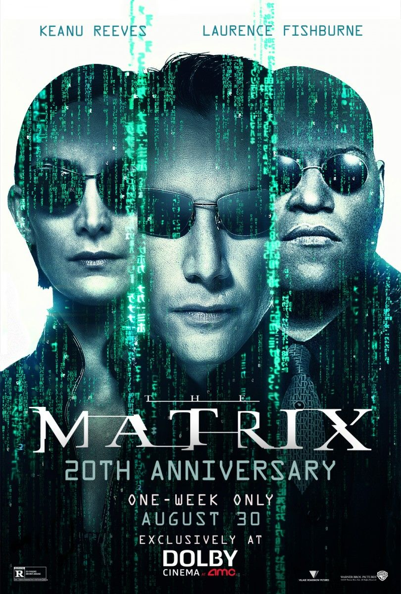 The Matrix (AMC/Dolby Re-Release Poster)