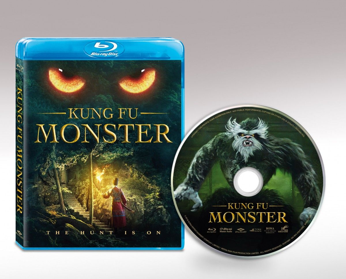 KUNG FU MONSTER Scares Its Way Home On Blu-Ray And Digital On October 8