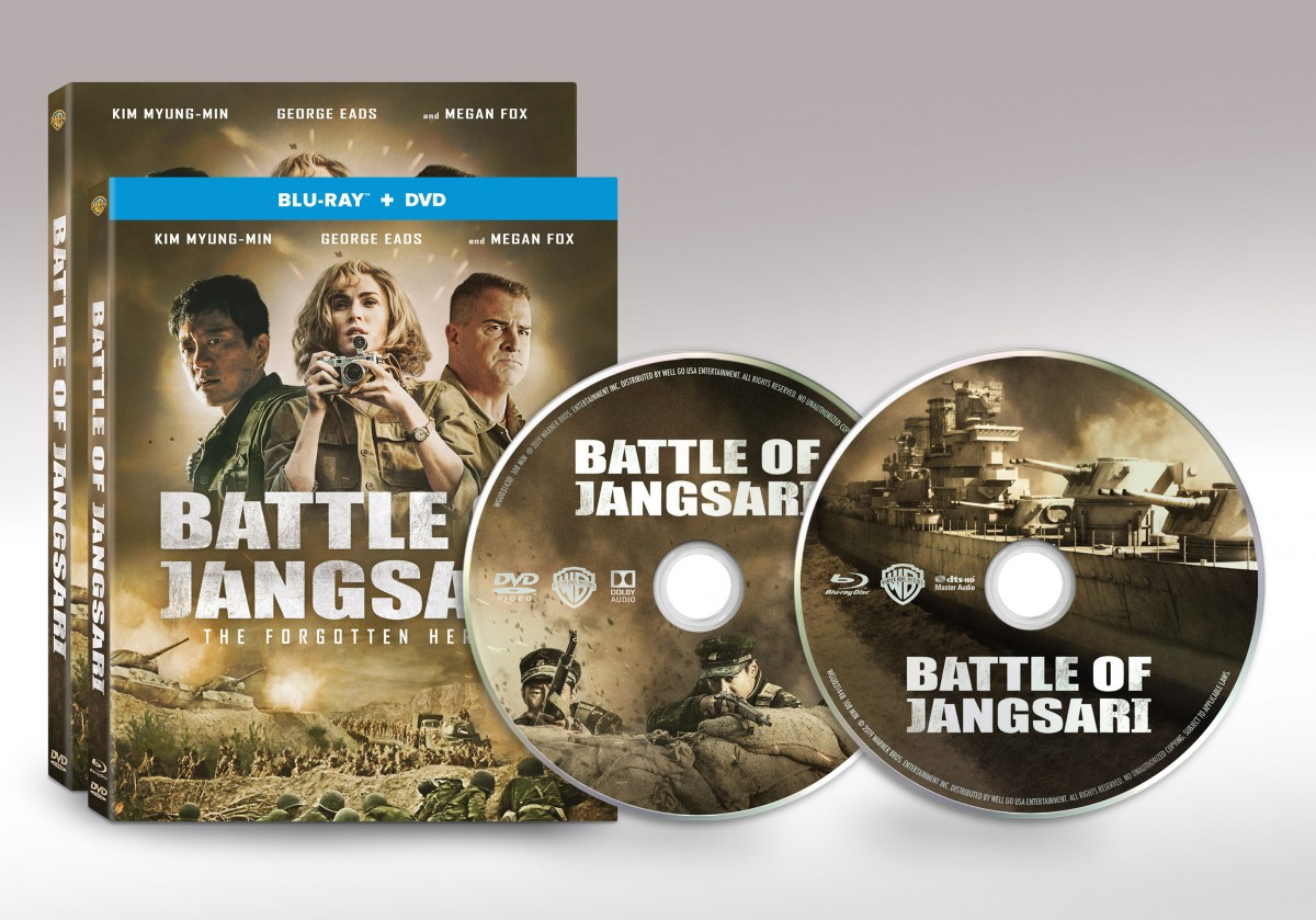 BATLLE OF JANGSARI Lands On U.S. Blu-Ray Combo Pack And DVD In January