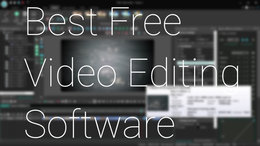 Best Free Video Editing Software Mac Pc Linux Online 2021