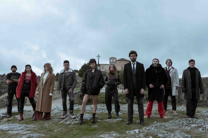 Money Heist' season 5: Behind-the-scenes shots we're obsessed with – Film  Daily