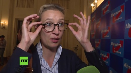 Alice Weidel AfD Russia Today