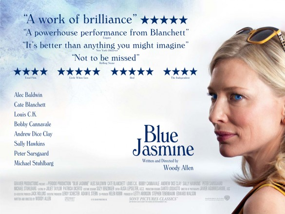 Film Doctor - Blue Jasmine UK Poster