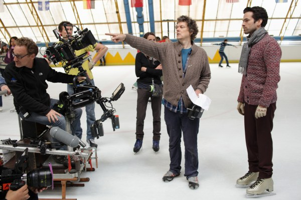 Michel Gondry on set of Mood Indigo