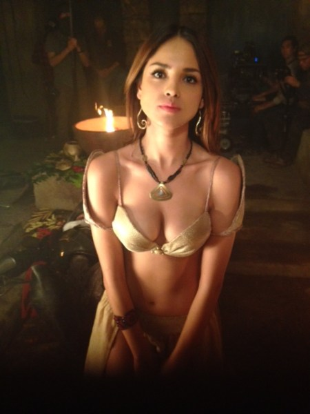 Eiza González wearing Nina's design in From Dusk Til Dawn (TV show)