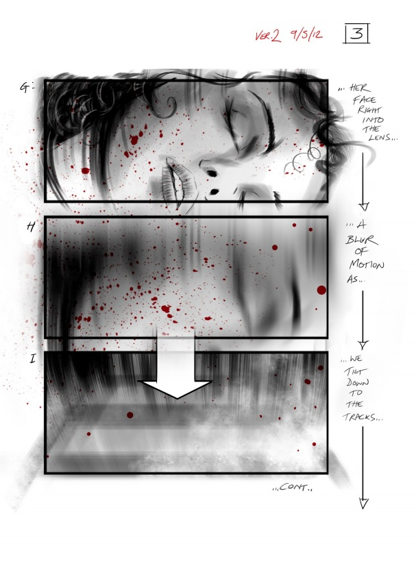 Anna Karenina storyboard 3 - David Allcock - Film Doctor