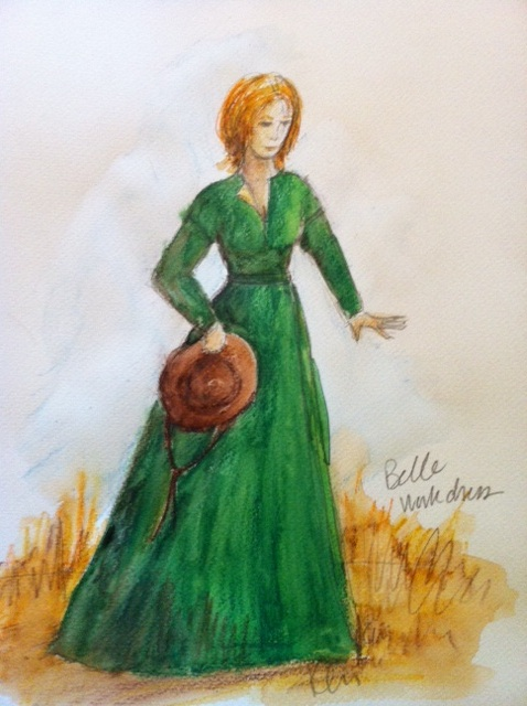 Kari Perkins - Deliverance Creek - Costume Sketch
