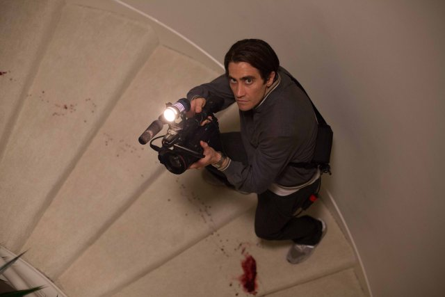 Nightcrawler - Jake Gyllenhaal as Louis Bloom - photo by Chuck Zlotnick