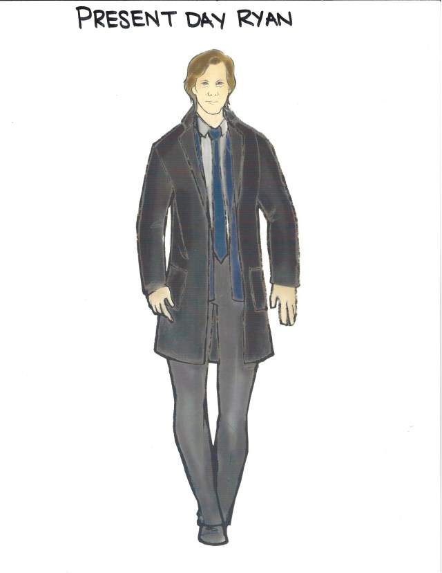 Costume Sketch for 'The Following' by Kelli Jones with help from Illustrator
