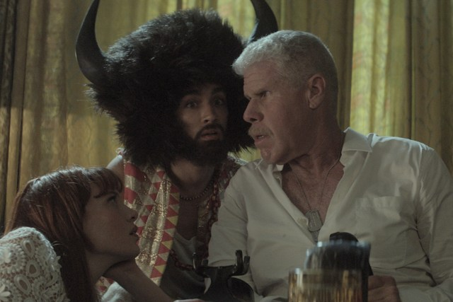 Ron Perlman in Moonwalkers