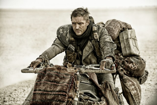 Tom Hardy in Mad Max: Fury Road - photo courtesy of Warner Bros. - costume by Jenny Beavan