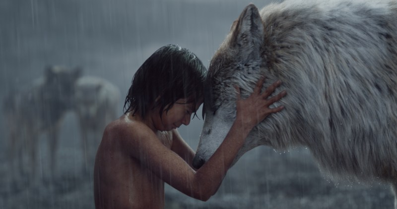 Neel Sethi and Lupita Nyong'o - The Jungle Book
