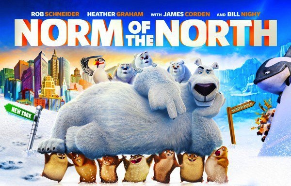 Norm of the North poster DVD blu-ray James Corden Bill Nighy Heather Graham