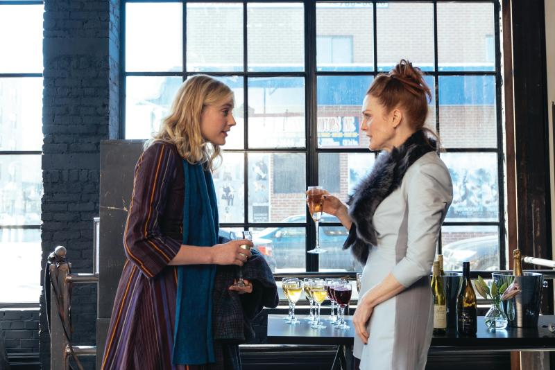Maggie's Plan actresses Greta Gerwig and Julianne Moore