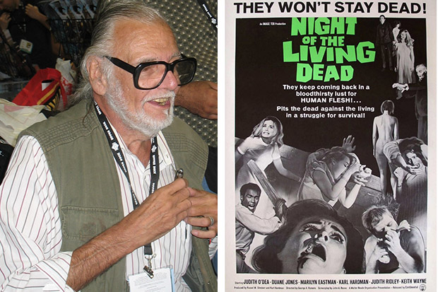 Films news George A Romero dead RIP movie news cinema Night of the Living Dead