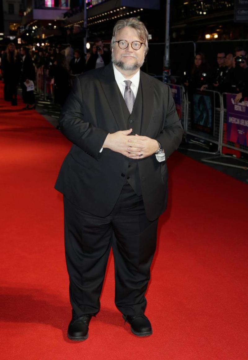 Guillermo del Toro at The Shape of Water London Film Festival Premiere