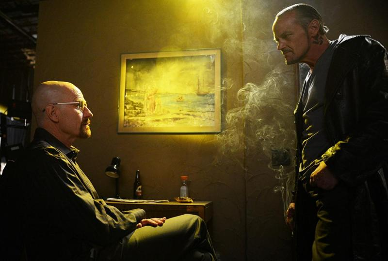 Bryan Cranston and Michael Bowen in Breaking Bad