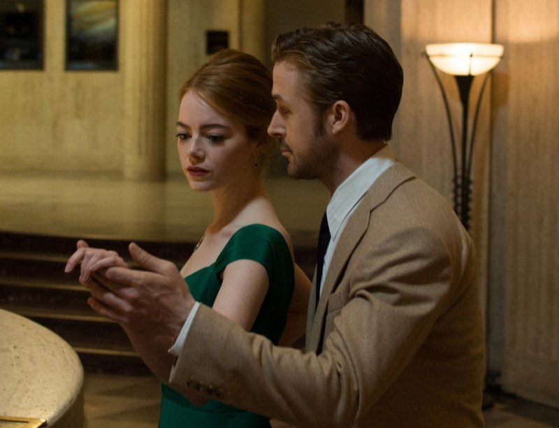 La La Land – Emma Stone and Ryan Gosling