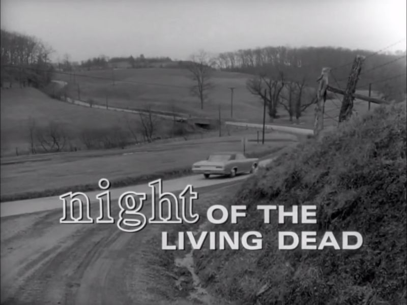 Night of the Living Dead by George A Romero