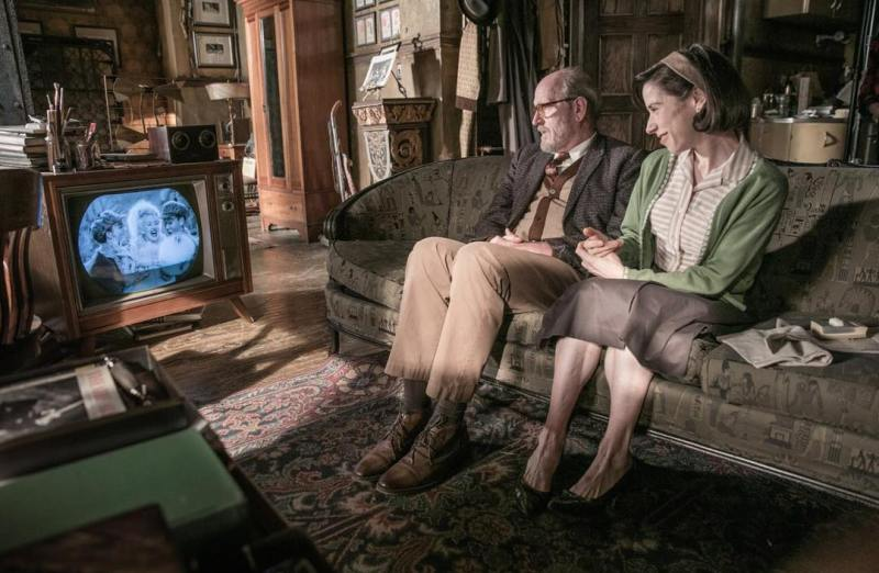 Richard Jenkins Sally Hawkins in The Shape of Water