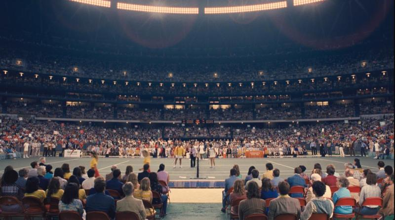 The Astrodome. Photo courtesy of Fox Searchlight Pictures. © 2017 Twentieth Century Fox Film Corporation