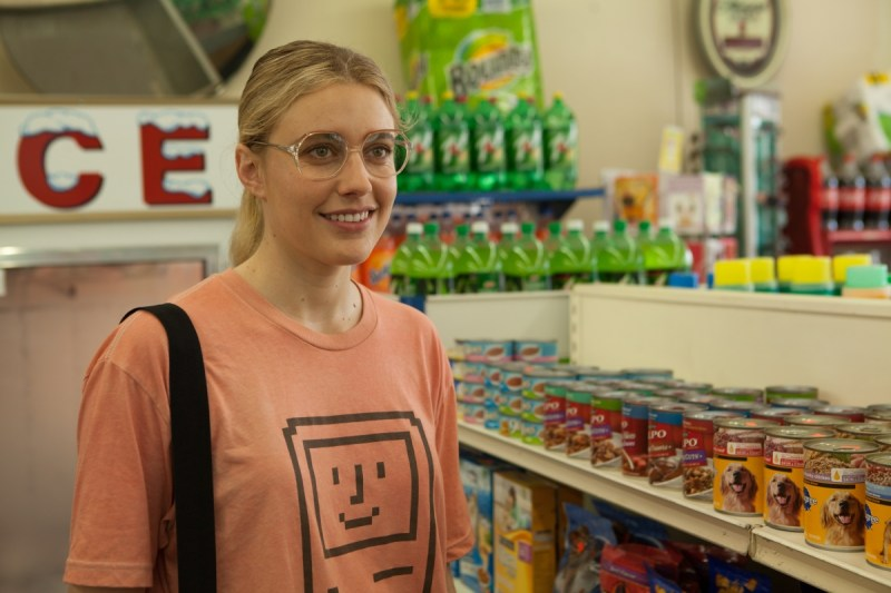 Wiener Dog – Greta Gerwig as Dawn