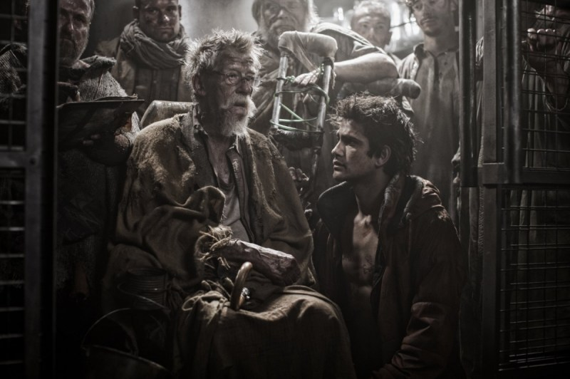 John Hurt in Snowpiercer