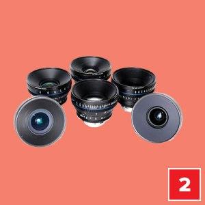 Kiralık Carl Zeiss Compact Prime Lens Seti
