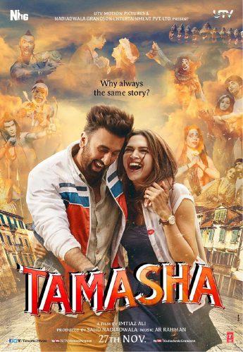 Tamasha movie poster