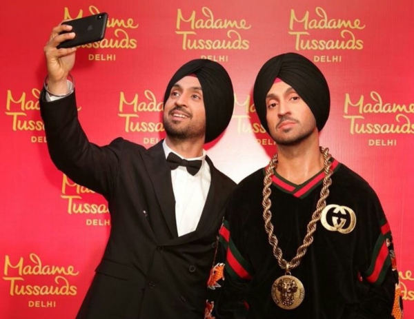 Diljit Dosanjh Emerges as First Turbaned Sikh to Get a Wax Statue at Madame  Tussauds Delhi | Filme Shilmy