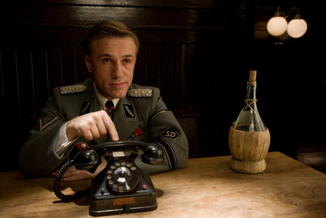 Photo: Christoph Waltz in Inglourious Basterds © The Weinstein Company