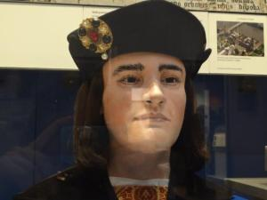 Richard III wax head