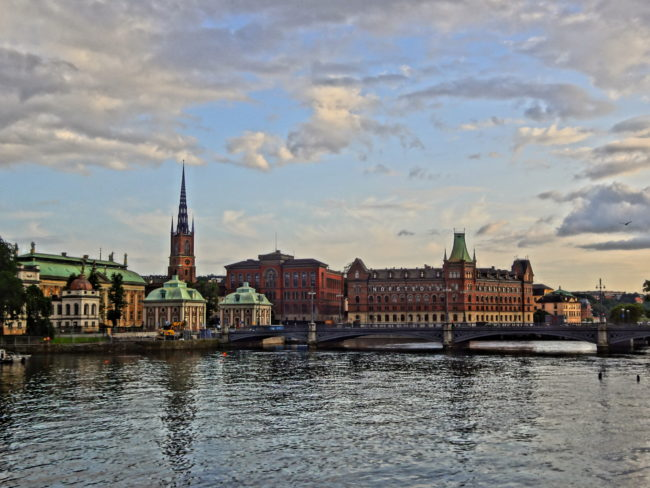 A view of Stockholm. © Sonja Irani / FilmFanTravel.com