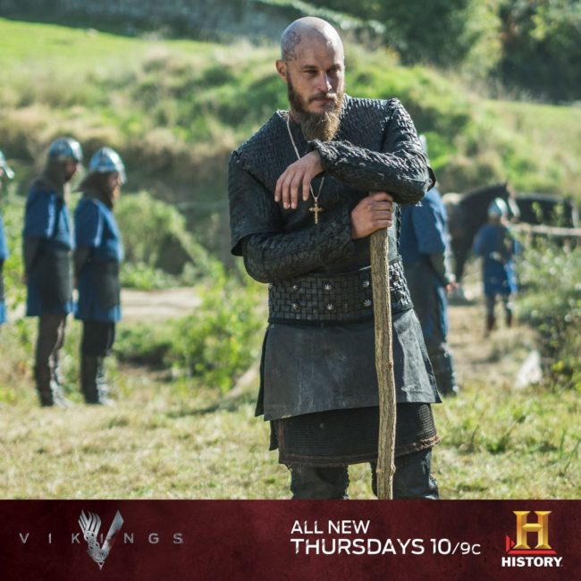 Ragnar Lothbrok portrayed by Travis Fimmel. Photo: Vikings Facebook Page