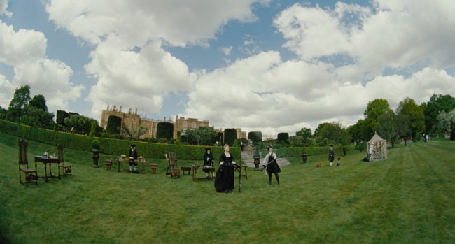 "Scene from ""The Favourite"" at Hatfield House. © 2018 Twentieth Century Fox"