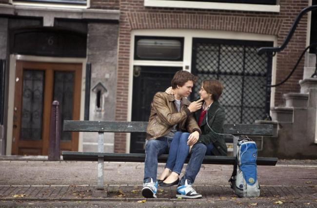 """Scene from """"The Fault in Our Stars"""". Photo: James Bridges/TM and © Fox 2000 Pictures."""