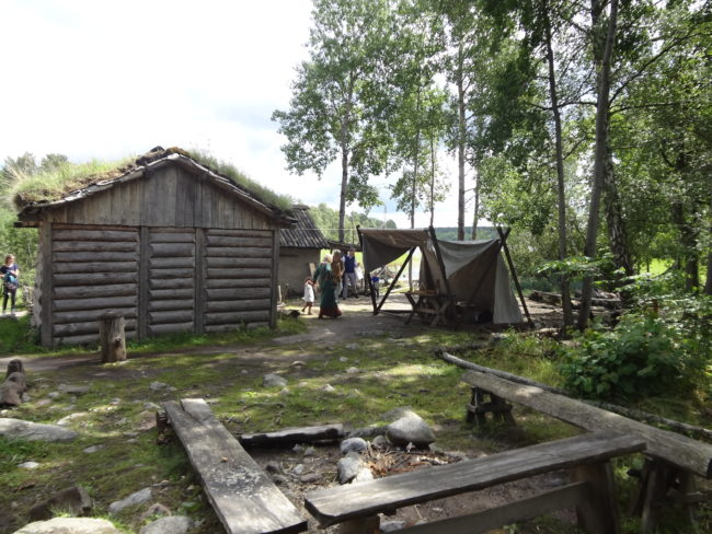 The Viking village during a tour to the Viking settlement Birka. © Sonja Irani / FilmFanTravel.com