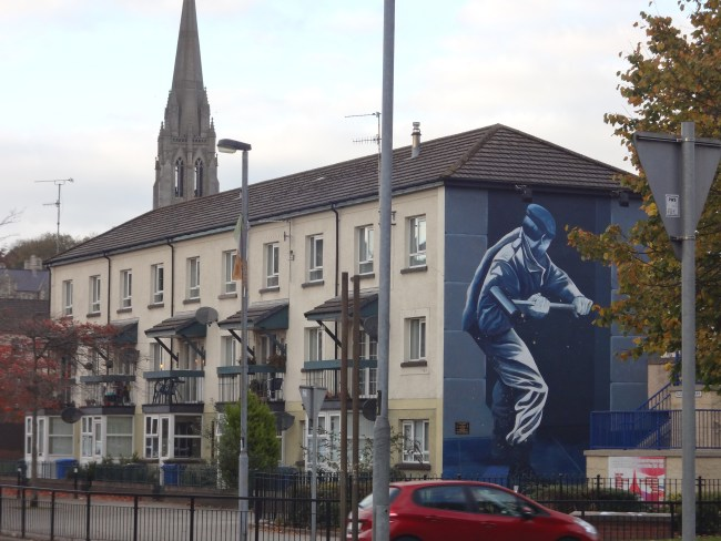 Murals in Derry, Northern Ireland