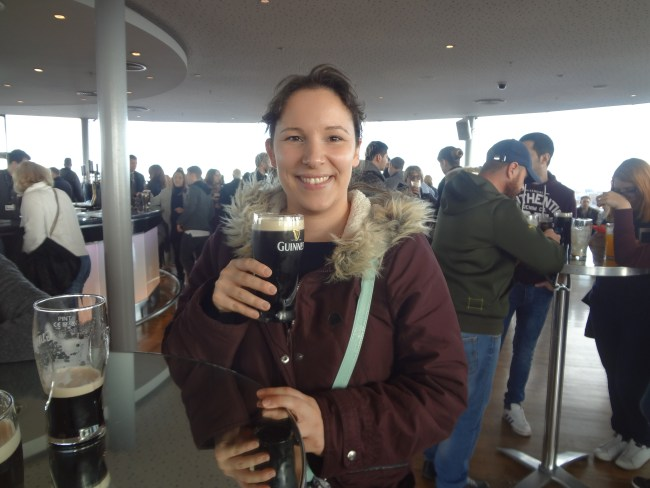 At the Guinness Storehouse. © Sonja Irani / filmfantravel.com