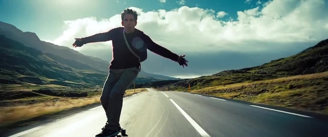 Walter Mitty in Iceland. © Twentieth Century Fox