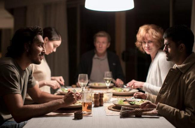 "Dinner table in ""Lion"". © Long Way Home Productions 2015"